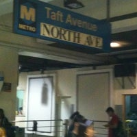 Photo taken at Yellow Line - Taft Avenue Station by Roy M. on 3/2/2012