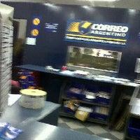 Photo taken at Correo Argentino by Figo on 4/5/2012