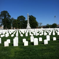 Photo taken at Hampton National Cemetery by Denise Y. on 3/27/2012