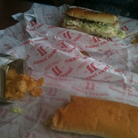 Photo taken at Jimmy John's by Michael S. on 5/1/2012