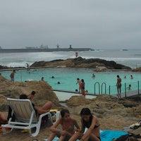 Photo taken at Piscina das Marés by Filipe S. on 7/26/2012