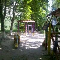 Photo taken at Дитячий майданчик/Playground by Олег П. on 7/8/2012