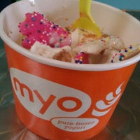 Photo taken at Myo Pure Frozen Yogurt by Leticia A. on 5/15/2012