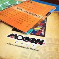 Photo taken at Mooon Cafe by Mamon on 8/22/2012