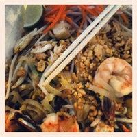 Photo taken at Mini Mango Thai bistro (New name: Mango on main) by Napa Valley Film Festival on 6/15/2012