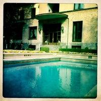 Photo taken at Villa Necchi Campiglio by francesco m. on 4/3/2012
