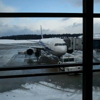 Photo taken at Akita Airport (AXT) by takoyaki on 2/26/2012
