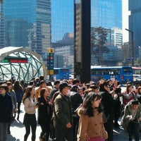 Photo taken at Gangnam Stn. by Kiheon S. on 2/27/2012