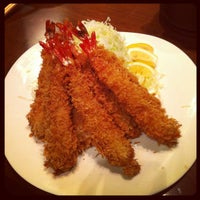 Photo taken at キムカツ 赤坂店 by The Y. on 6/13/2012