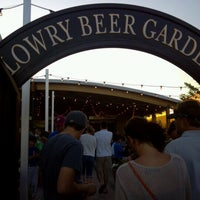 Photo taken at Lowry Beer Garden by Sarah G. on 6/17/2012