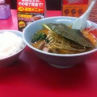 Photo taken at 山岡家 足利店 by つかっちゃん on 2/18/2012
