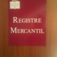 Photo taken at Registro Mercantil by Alejo M. on 7/24/2012