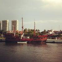 Photo taken at Embarcadero Marina Vallarta by Genaro M. on 7/7/2012