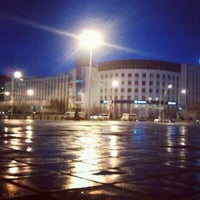 Photo taken at Площадь Ленина by Destroyer3ooo on 4/24/2012