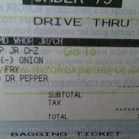 Photo taken at Burger King by James R. on 4/18/2012