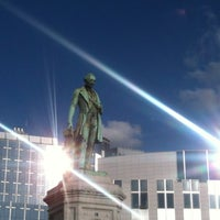 Photo taken at Luxemburgplein / Place du Luxembourg by Julien B. on 7/1/2012