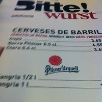 Photo taken at Otto Sylt - Bitte Wurst by Joao Z. on 7/12/2012
