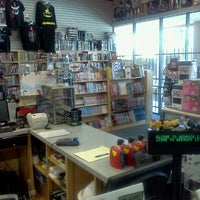 Photo taken at Bedrock City Comic Co. by Aaron G. on 8/20/2012