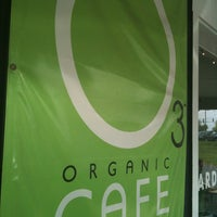 Photo taken at O3 Organic Cafe by Christopher S. on 5/14/2012