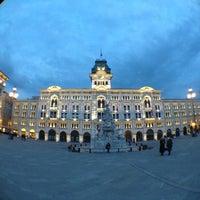 Photo taken at Piazza Unità d'Italia by Carlo F. on 4/20/2012