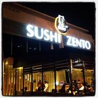 Photo taken at Sushi Zento by Gilbert C. on 8/19/2012