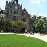 Photo taken at Oglethorpe University by Kyler G. on 7/22/2012