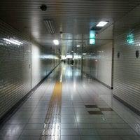 Photo taken at Hanzomon Station (Z05) by zass on 6/13/2012