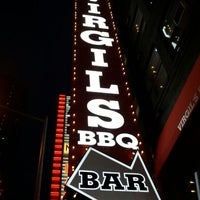 Photo taken at Virgil's Real BBQ by Chris C. on 3/24/2012