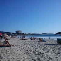 Photo taken at Praia de Samil by Marco D. on 5/23/2012