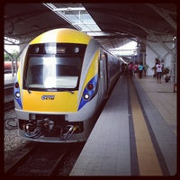 Photo taken at KTM Station Ipoh by Michael F. on 4/1/2012