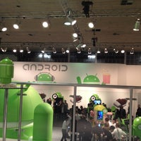 Photo taken at MWC 2012 Android stand by Fernando D. on 2/29/2012
