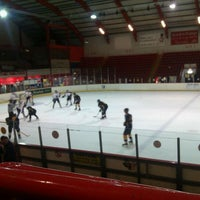 Photo taken at Blackburn Ice Arena by Charlotte F. on 3/17/2012