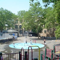 Photo taken at Jesse Owens Playground by NYC Parks on 7/27/2012