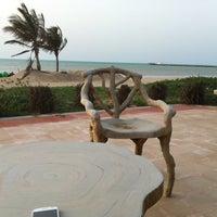 Photo taken at Al Dabiya Beach by Yas ™. on 3/27/2012