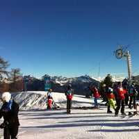 Photo taken at Stade de slalom by Renaud F. on 2/29/2012