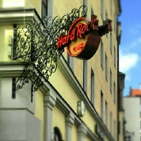 Photo taken at Hard Rock Cafe Munich by Михаил Б. on 8/8/2012