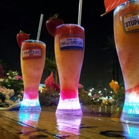 Photo taken at Bubba Gump Shrimp Co. by volkan b. on 8/4/2012
