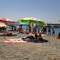 Photo taken at Filyos Sahil by Suat Cevdet Y. on 7/15/2012