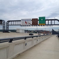 Photo taken at Woodrow Wilson Bridge Pedestrian Trail by Anthony L. on 5/30/2012