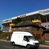 Photo taken at West Ham Utd Supporters Club by Henrique N. on 7/24/2012