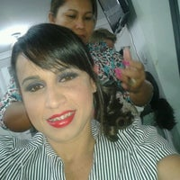 Photo taken at Salão Nil Sisters by Marcela R. on 8/10/2012