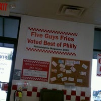 Photo taken at Five Guys by Tim T. on 4/11/2012