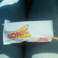 Photo taken at SONIC Drive In by Anna H. on 7/25/2012