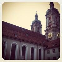 Photo taken at Stiftsbibliothek by Gergina H. on 3/5/2012