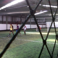 Photo taken at TATA Futsal by Agil A. on 2/28/2012