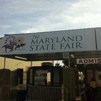 Photo taken at Maryland State Fairgrounds by Kerri B. on 8/27/2012