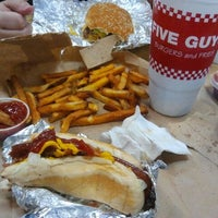 Photo taken at Five Guys by Ivan A. on 8/10/2012