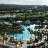 Photo taken at Orlando World Center Marriott by Cathleen M. on 3/15/2012