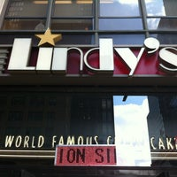 Photo taken at Lindy's by Aisha M. on 3/8/2012