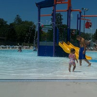 Photo taken at Tuhey Pool by Molly M. on 6/9/2012